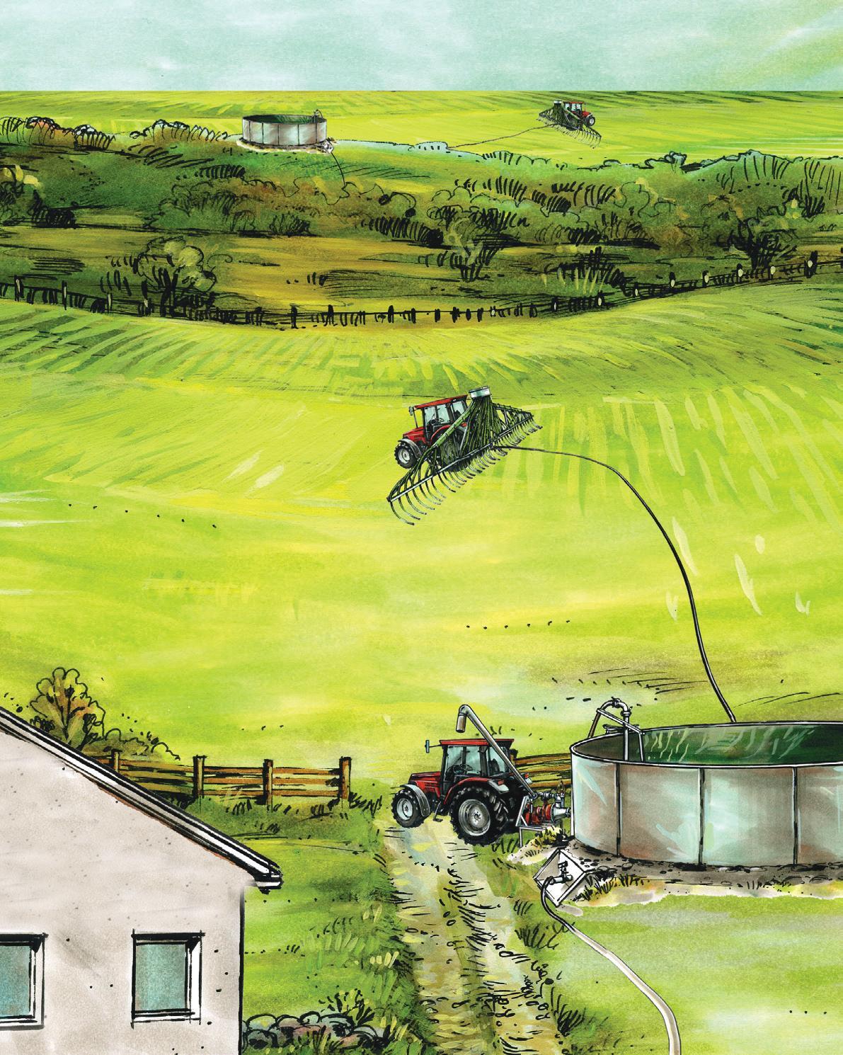 Illustrasjon av ett AM-anlegg