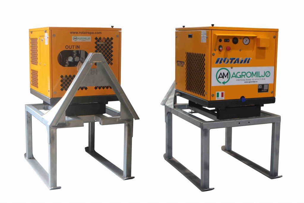 Luftkompressorer fra Agromiljø